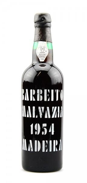 Madeira 1954 Barbeito Malvazia