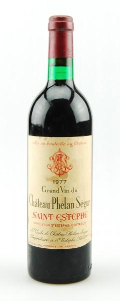 Wein 1977 Chateau Phelan Segur Cru Bourgeois