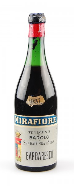 Wein 1937 Barbaresco Mirafiore