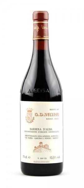 Wein 1987 Barbera d-Alba Riserva Vajra