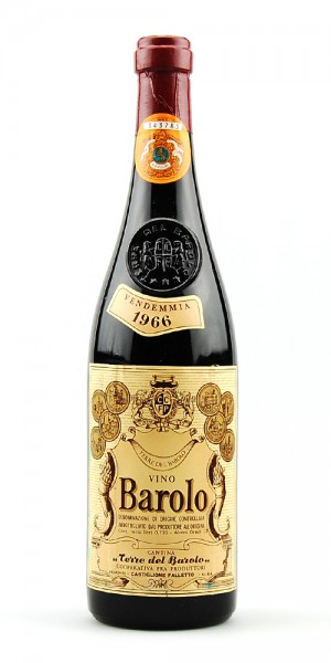 Wein 1966 Barolo Terre del Barolo