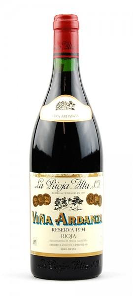 Wein 1994 Vina Ardanza Reserva La Rioja Alta