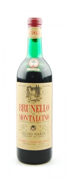 Wein 1968 Brunello di Montalcino Silvio Nardi