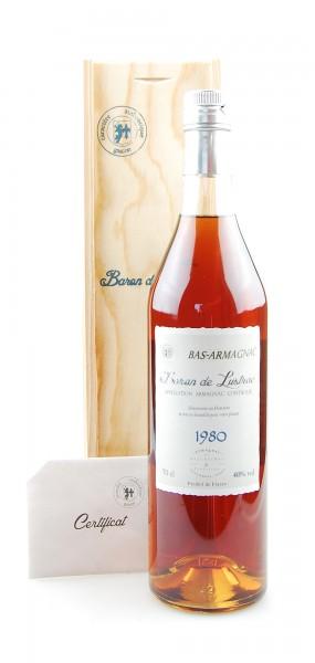 Armagnac 1980 Bas-Armagnac Baron de Lustrac 0,7l