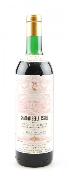 Wein 1964 Chateau Belle Assise