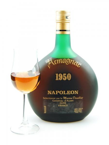 Armagnac 1950 Napoleon Maison Damblat