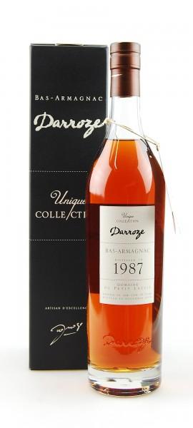 Armagnac 1987 Bas-Armagnac Darroze Domaine Petit Lassis