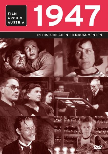 DVD 1947 Chronik Austria Wochenschau in Holzkiste