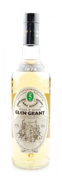 Whisky 1974 Glen Grant Highland Malt 5 years old