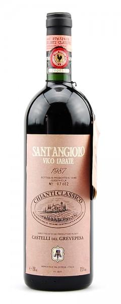 Wein 1987 Chianti Classico Sant-Angiolo