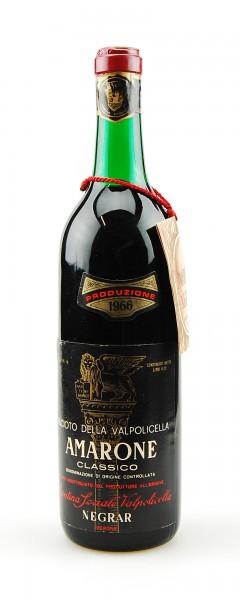 Wein 1966 Amarone Negrar Reciotto della Valpolicella