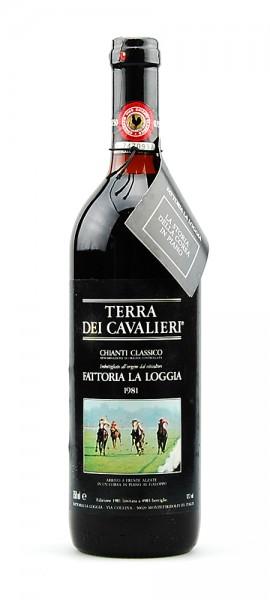 Wein 1981 Chianti Classico Fattoria La Loggia I