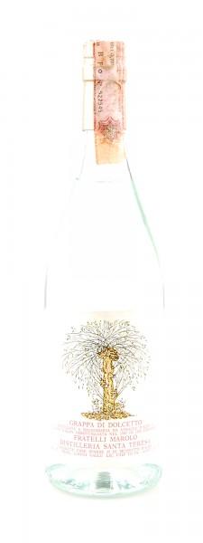Grappa 1980 di Dolcetto Fratelli Marolo Santa Teresa