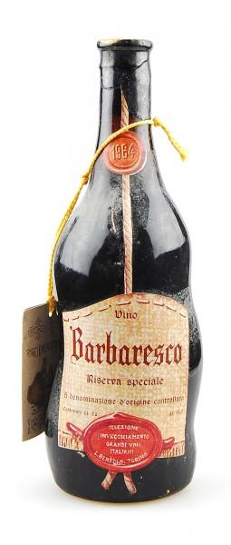 Wein 1964 Barbaresco Bertolo Riserva Speciale