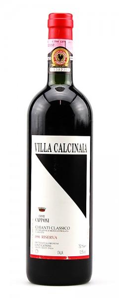 Wein 1991 Chianti Classico Riserva Conti Capponi