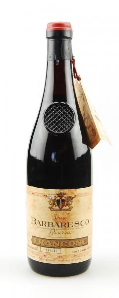 Wein 1953 Barbaresco Francone Riserva Numerata