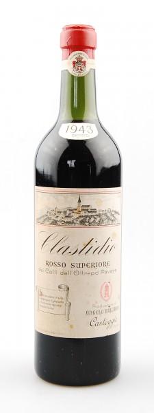 Wein 1943 Clastidio Rosso Oltrepo Pavese