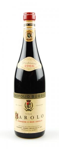 Wein 1966 Barolo Enopolio di Bubbio