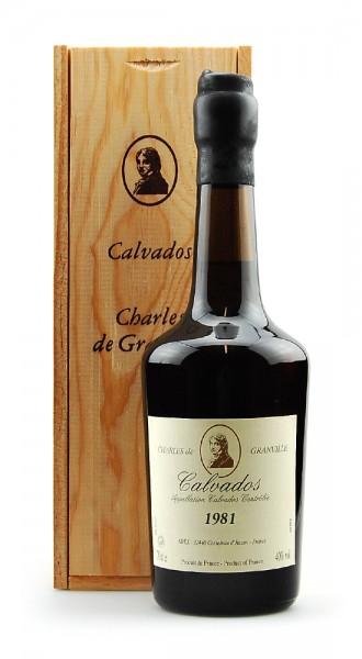 Calvados 1981 Charles de Granville
