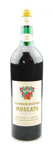 Wein 1951 Moscato Guerrieri-Rizzardi