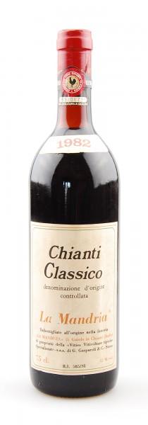 Wein 1982 Chianti Classico La Mandria