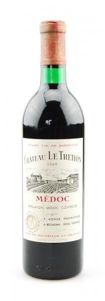 Wein 1969 Chateau Le Trehon Appelation Medoc