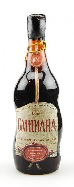 Wein 1958 Gattinara Invecchiamento Lorenzo Bertolo