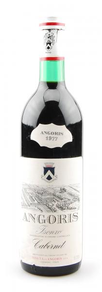 Wein 1977 Cabernet Angoris