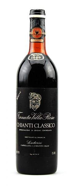 Wein 1969 Chianti Classico Riserva Tenuta Villa Rosa
