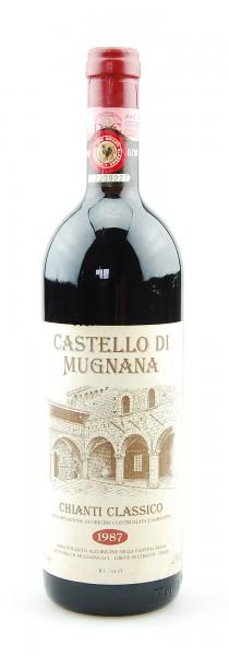 Wein 1987 Chianti Classico Castello di Mugnana