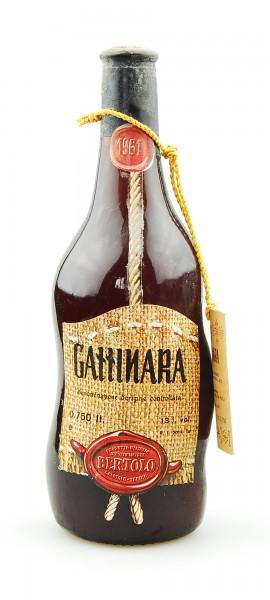Wein 1961 Gattinara Lorenzo Bertolo