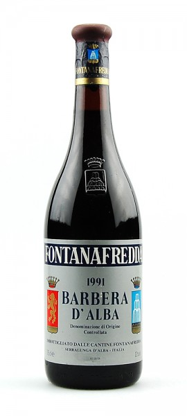 Wein 1991 Barbera d´Alba Fontanafredda