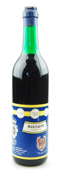 Wein 1964 Marzemino Passito Riserva Bongiovanni