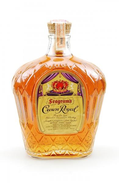 Whisky 1968 Seagram´s Crown Royal Blended Whisky