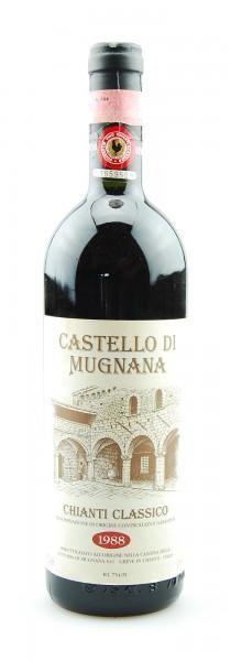 Wein 1988 Chianti Classico Castello di Mugnana