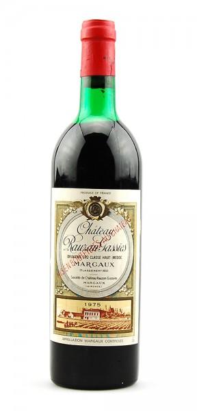 Wein 1975 Chateau Rauzan Gassies