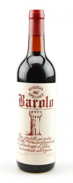 Wein 1967 Barolo Lanzavecchia Riserva Speciale