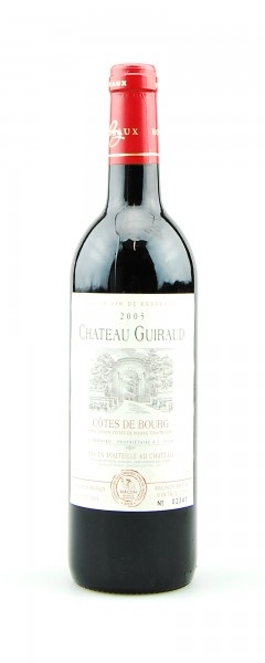 Wein 2005 Chateau Guiraud Cotes de Bourg