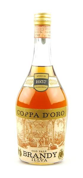 Brandy 1957 Old Pale Brandy Coppa d´Oro Illva Saronno
