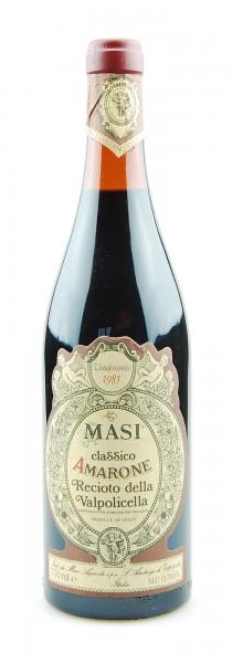 Wein 1985 Amarone Recioto della Valpolicella Masi