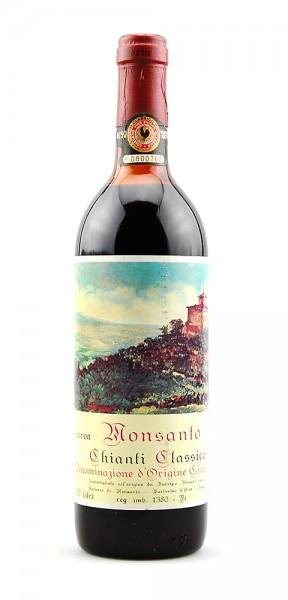 Wein 1975 Chianti Classico Monsanto Riserva