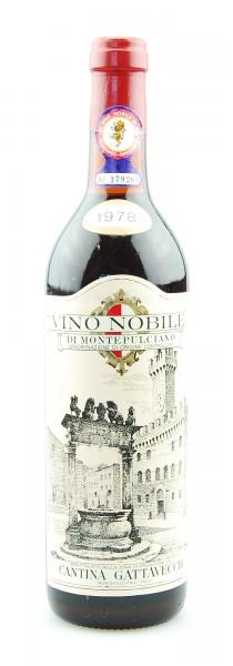 Wein 1978 Vino Nobile di Montepulciano Gattavecchi