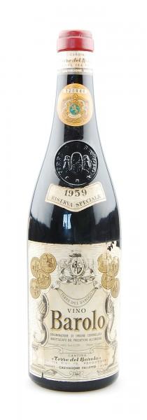 Wein 1959 Barolo Terre del Barolo Riserva Speciale