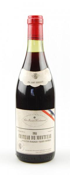 Wein 1966 Chateau du Montceau Saint Ferdinand