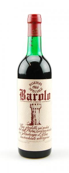 Wein 1966 Barolo Lanzavecchia Riserva Speciale