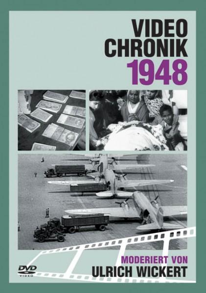 DVD 1948 Chronik Deutsche Wochenschau in Holzkiste