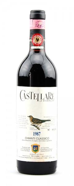 Wein 1987 Chianti Classico Castellare Numerati