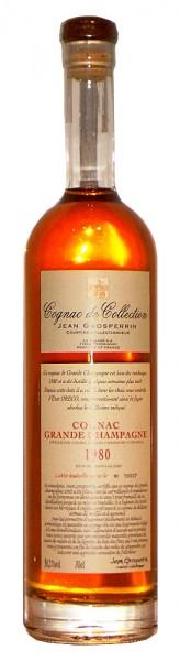 Cognac 1980 Jean Grosperrin Grande Champagne