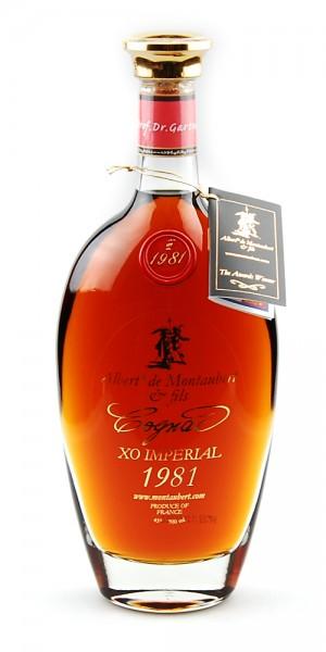 Cognac 1981 Albert de Montaubert XO Imperial