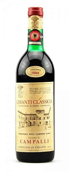 Wein 1968 Chianti Classico Fattoria di Meleto